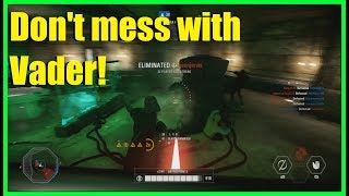 Star Wars Battlefront 2 - The TL-50 is great up close! | Darth Vader PTFO gameplay!