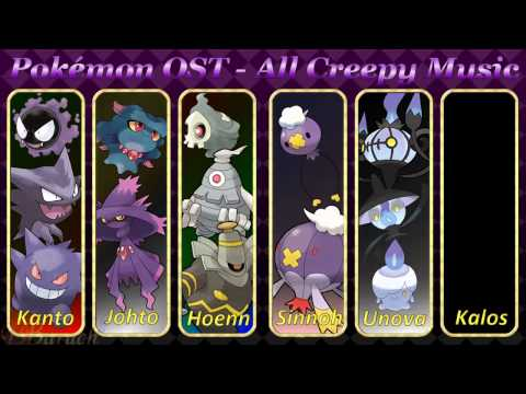 Pokémon OST - All Creepy Music v0.5