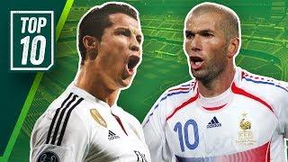 Die 10 besten europäischen Spieler aller Zeiten! Onefootball Top 10