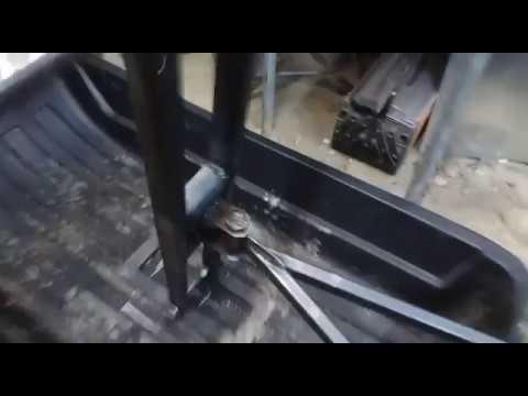 Толкач мотобуксировщик передний привод своими руками