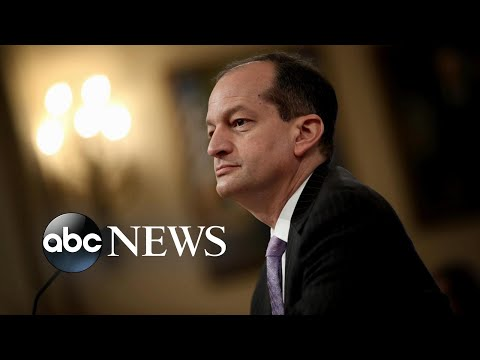 Frankie Darcell - Labor Secretary Alex Acosta Defends Role in Jeffrey Epstein Deal
