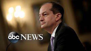Calls grow for labor secretary to resign amid Jeffrey Epstein scandal