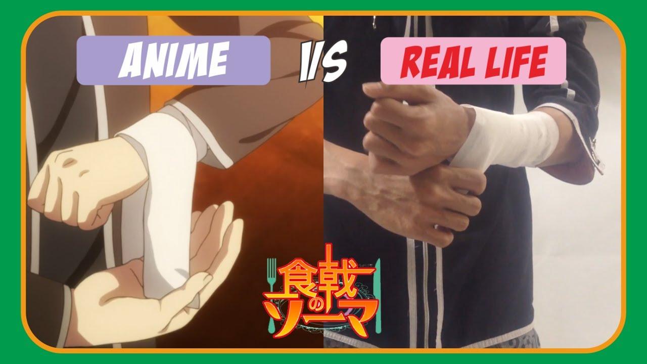 Download ANIME vs REAL LIFE - Food Wars! Shokugeki no Soma | ANIME PARODY