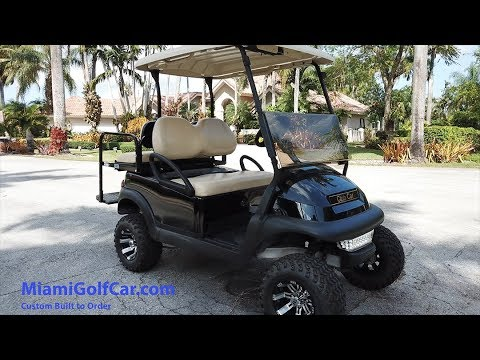 Club Car Miami Golf Car 4 Seater Black For Sale Electric