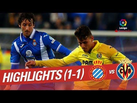 Resumen de RCD Espanyol vs Villarreal CF (1-1)