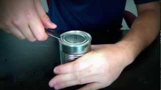 How to Open a Can The Russian Way!