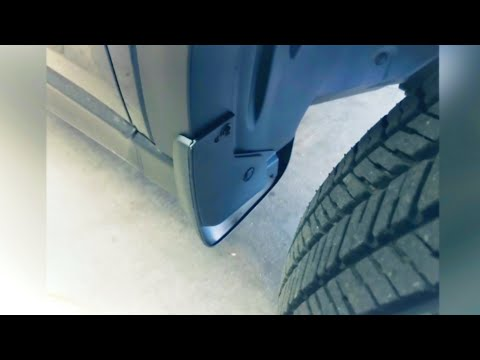 How To Attach Mud Flaps To Mazda CX-5 2020