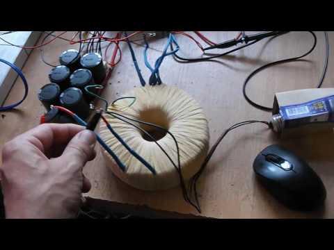 усилитель Ланзар 240Вт на советских транзисторах.