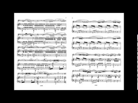 Ponchielli : Capriccio op  80 for oboe with piano accompaniment