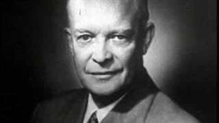 President Dwight Eisenhower  1953-1961