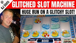Slot Machine Glitch? JUST DUCKY - BIG WINS - BONUSES