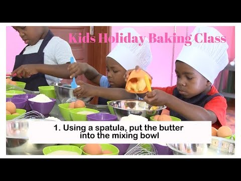 Kids Holiday Baking Class with Caroline's Cupcakes Nairobi