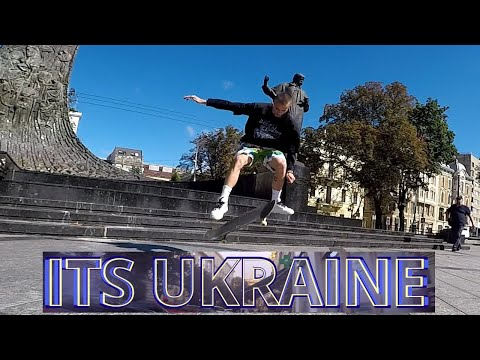 "Its Ukraine! Lviv skateboarding! Fake Ukrainian skateboarding! ""ON SOME HIGH"" SEBASTIAN PAUL"