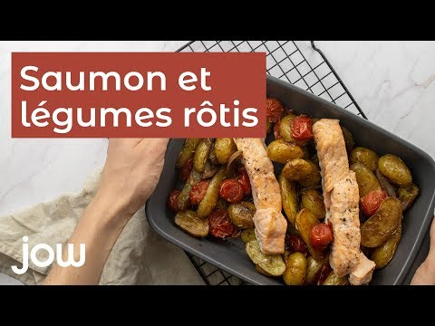 recette-saumon-et-légumes-rôtis