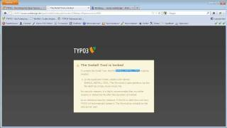 TYPO3-Tutorial 2012-04 - Installation in einem Webspace-Paket