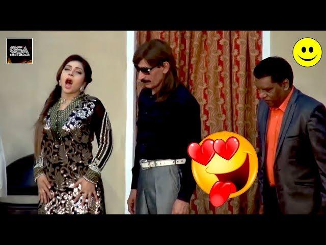 THARKI IFTIKHAR THAKUR AUR MAHNOOR 2019 New Stage Drama Best Comedy Clip😂
