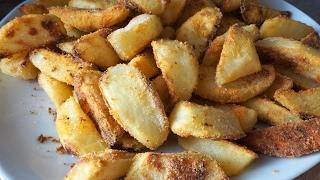 Картошка с хрустящей корочкой/Baked potatoes