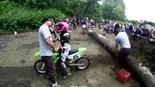 Joel naples green field mass dirt bike hillclimb 80 sr