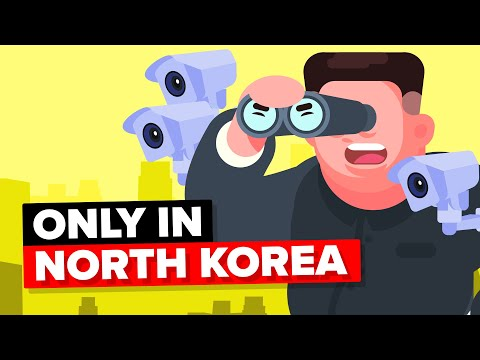 Weird Things That Only Exist in North Korea
