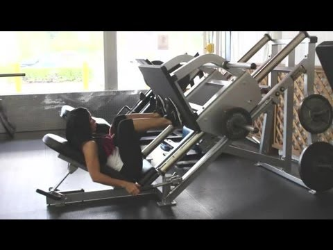 What Muscles Does the Leg Press Work?: Strength Training