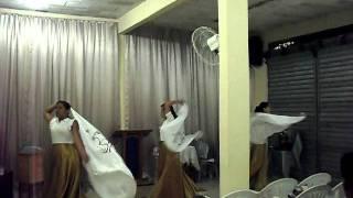 COREOGRAFIA YESHUA NA  IGREJA EV. ASSEMBLEIA  DE DEUS TANQUE DE BETESDA
