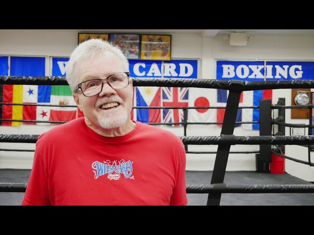 BOXING GURU 60 SECONDS - FREDDIE ROACH - TALKS MANNY PACQUIAO & TYSON FURY