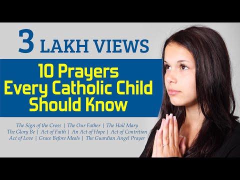 10 PRAYERS - Every Catholic Child Should Know