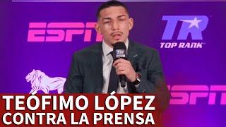BOXEO | TEÓFIMO LÓPEZ y su enfrentamiento con la prensa tras vencer a LOMACHENKO | Diario AS