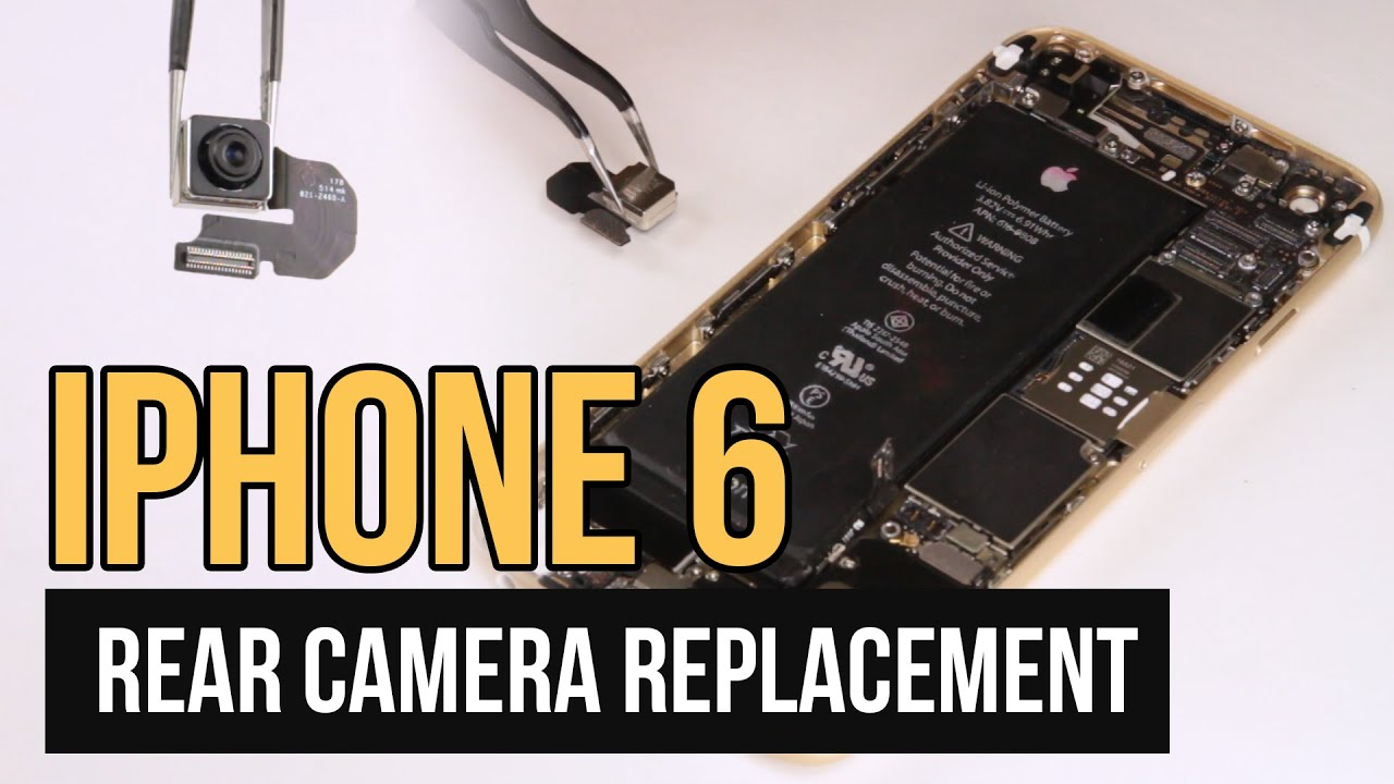 iphone 6 repair iphone 6 rear replacement guide 11394