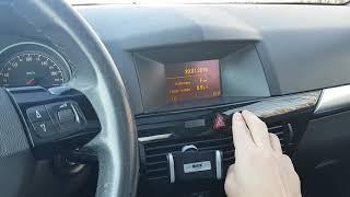 Opel astra h electrical problem défaut electrique