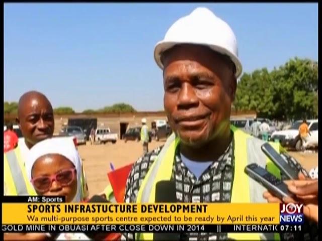 Sports Infrastructure Development - AM Sports on JoyNews (23-1-19)