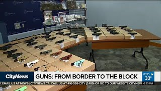 Where are Toronto's guns coming from?