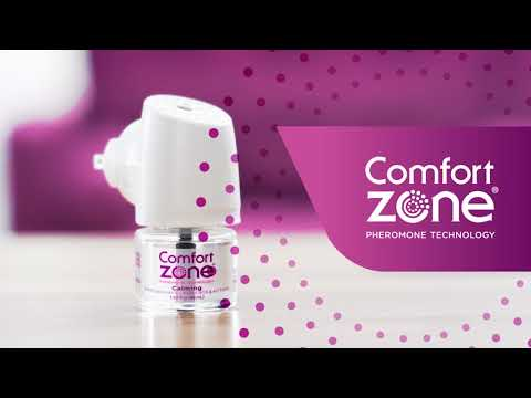 Comfort Zone Calming Diffuser for Cat Stress - Stop Urine Marking & Hissing