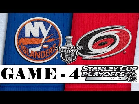 New York Islanders vs Carolina Hurricanes | Second round | Game 4 | Stanley Cup 2019 | Обзор матча