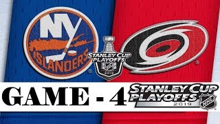 New York Islanders Vs Carolina Hurricanes  Second Round  Game 4  Stanley Cup 2019  Обзор матча