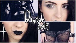 Winter 2015: SCHWARZER Alltagslook + OUTFIT I Hannah Black