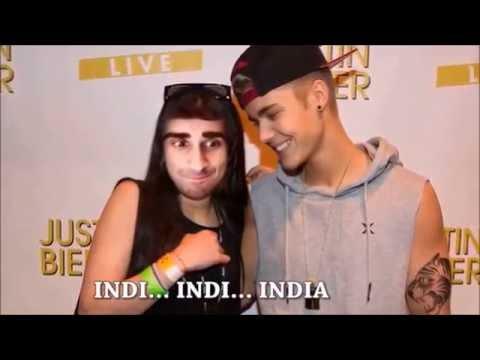 Vikkstar123 - Indi Indi India (India) - Parody of Justin Bieber (Baby) | (Explicit)