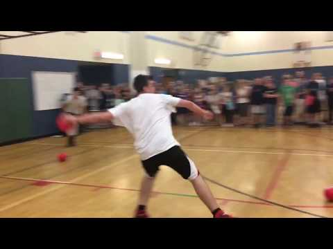 Final Minutes Of The Zimmerman Middle School Dodgeball Championship