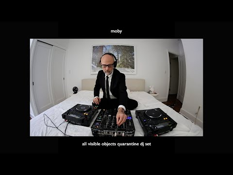 'All Visible Objects' Quarantine DJ Set | Moby