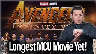 Avengers: Infinity War To Be Longest Marvel Movie Yet