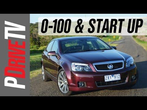 2014 Holden WN Caprice V V8 0-100km/h and engine sound