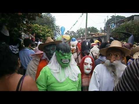 Disfrazados de Coacuilco,Hgo 2012 Xantolo 2