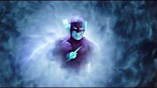 Arrow 7×09 Barry Allen warns Earth 1| Oliver, Barry and Kara visit Arkham Asylum