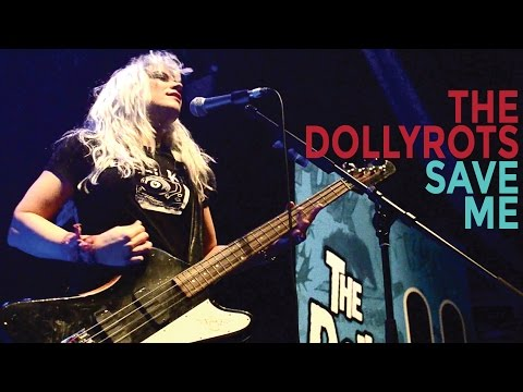 The Dollyrots - Save Me (Official Lyric Video)