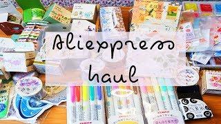 Aliexpress haul part 1 (a lot stationary!!!)
