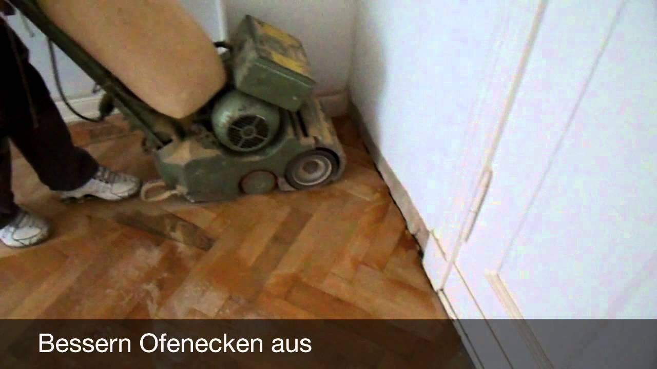 Boden Abschleifen Kosten Berlin Youtube