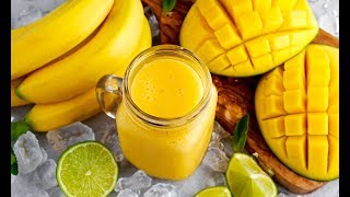 Как Приготовить Манго И Банан СМУЗИ Вкусный И Полезный Рецепт