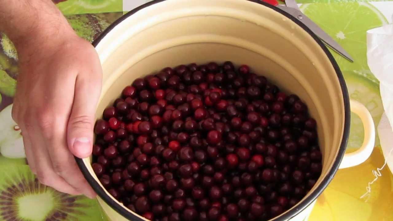 Видео варенье из вишни