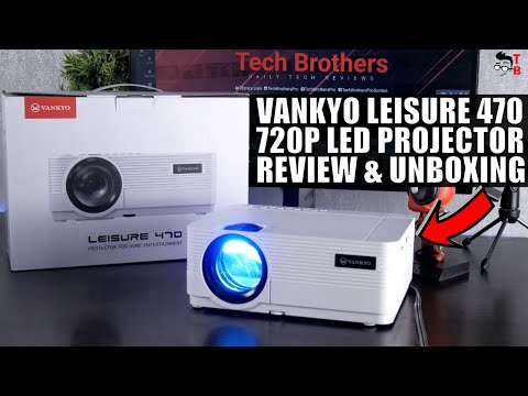 Vankyo Leisure 470 REVIEW: Connect Smartphone To THIS Projector!