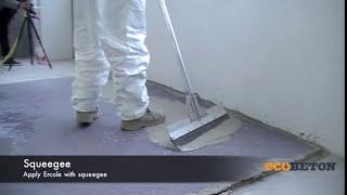 Ecobeton Ercole - tenkovrstvá cementová stěrka